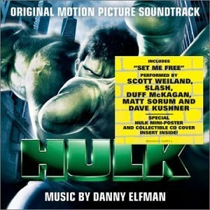 The Hulk: Original Motion Picture Soundtrack album cover