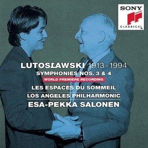 Lutoslawski: Symphonies Nos.3 & 4 album cover