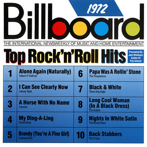 Billboard Top Rock 'N' Roll Hits: 1972 album cover