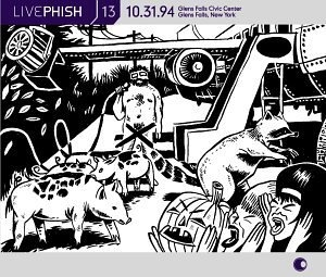 Live Phish Vol.13 album cover