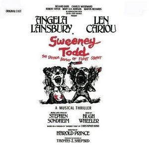 Sweeney Todd: The Demon Barber Of Fleet Street (1979 Original Broadway Cast) album cover