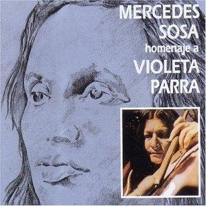 Homenaje A Violeta Parra album cover