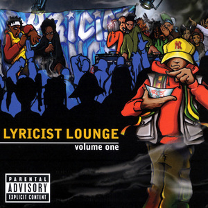 Lyricist Lounge, Vol. 1 album cover