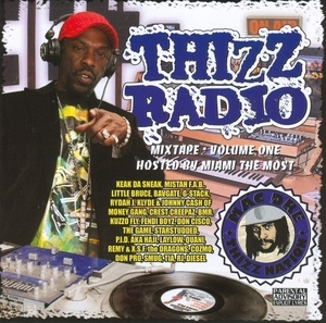Thizz Radio Mixtape, Vol. 1 album cover