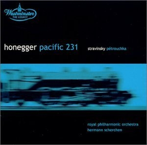 Honegger: Pacific 231~ Stravinsky: Petrouchka album cover