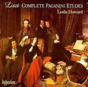 Liszt: Complete Paganini Etudes album cover