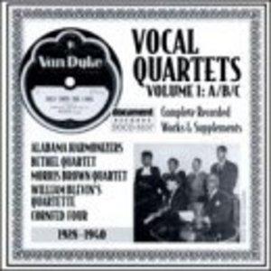 Vocal Quartets Vol.1-A-B-C (1928-1940) album cover
