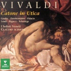 Vivaldi-Il Catone In Utica album cover