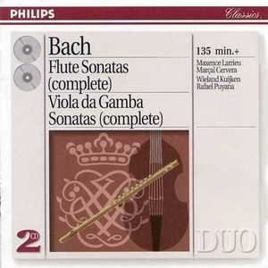 JS Bach: Flute And Viola Da Gamba Sonatas album cover