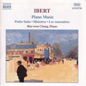 Ibert: Piano Music album cover