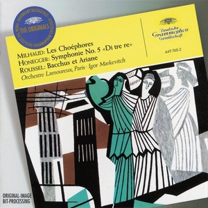 Milhaud: Les Choephores album cover