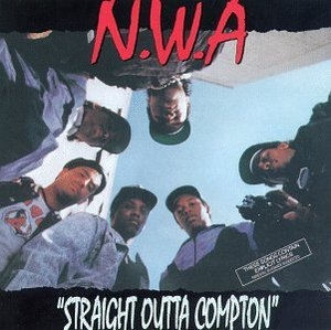 Straight Outta Compton album cover