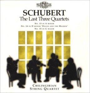 Schubert: The Last Three Quartets album cover