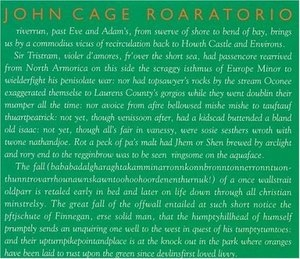 Cage: Roaratorio, Laughtears album cover