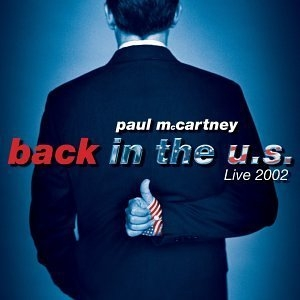 Back In The US Live 2002 album cover