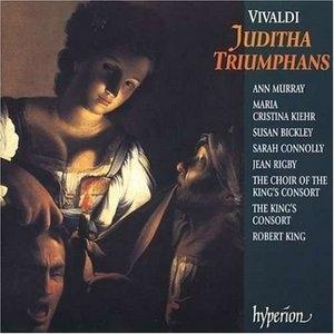 Vivaldi: Juditha Triumphans album cover