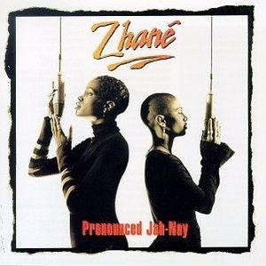 Pronounced Jah-Nay album cover