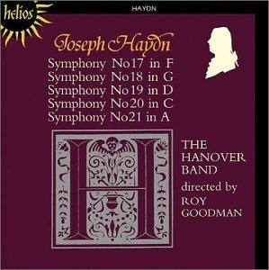 Haydn-Symphonies 17-21 album cover