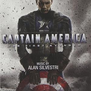 Captain America: The First Avenger album cover