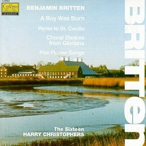 Britten: Choral Music album cover