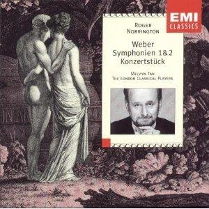 Weber-Symphonien 1-2 Konzertstuck album cover