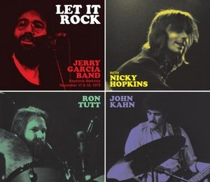 The Jerry Garcia Collection, Vol. 2: Let It Rock album cover