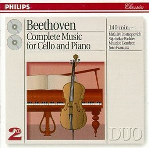 Beethoven: Complete Music For Cello And Piano album cover