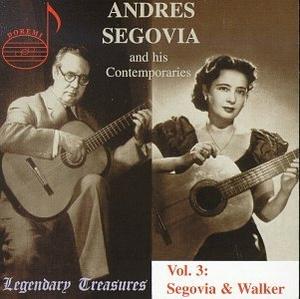 Segovia And His Contemporaries Vol.3 album cover