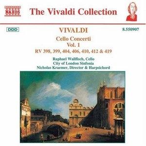 Vivaldi: Cello Concerti Vol.1 album cover