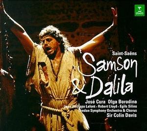 Saint-Saëns: Samson & Dalila album cover