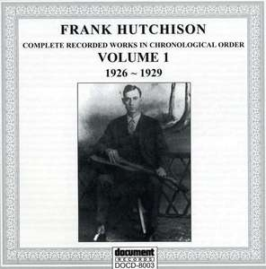 Complete Recorded Works, Vol.1 (1926-1929) album cover