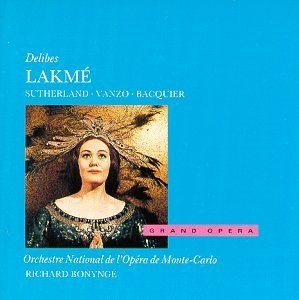 Delibes: Lakme album cover