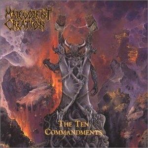 The Ten Commandments album cover