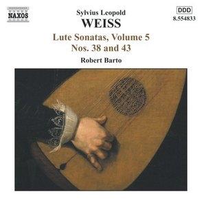 Weiss: Lute Sonatas, Vol.5 album cover