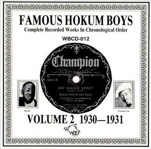 Complete Recorded Works-Vol.2 (1930-1931) album cover