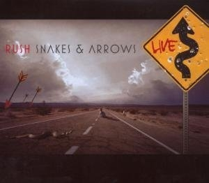 Snakes & Arrows Live album cover