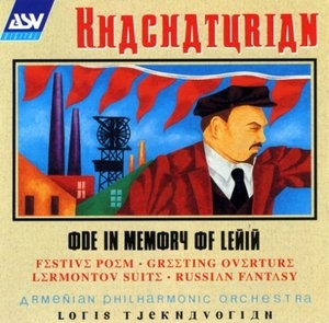 Khachaturian-Ode In Memory Of Lenin album cover