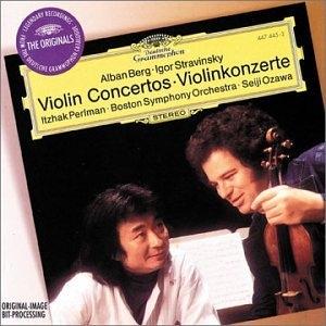 Berg, Stravinsky: Violin Concertos album cover