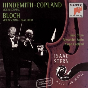 Hindemith, Copland: Violin Sonatas, Bloch: Violin Sonata, Baal Shem album cover