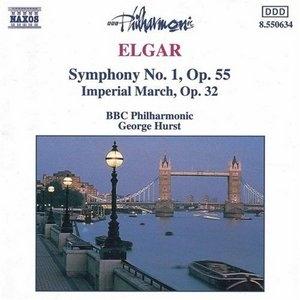 Elgar: Symphony No.1, Imperial March album cover