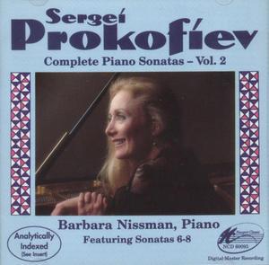 Prokofiev: Complete Piano Sonatas Vol.2 album cover