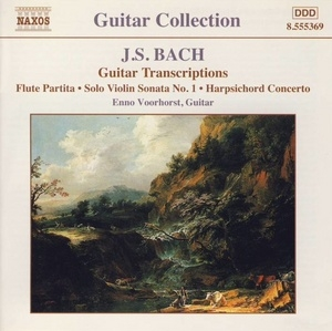 J.S. Bach: Guitar Transcriptions album cover