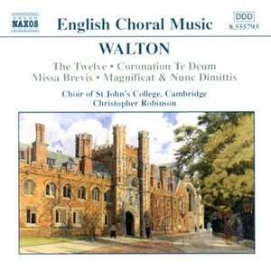Walton: Choral Music album cover
