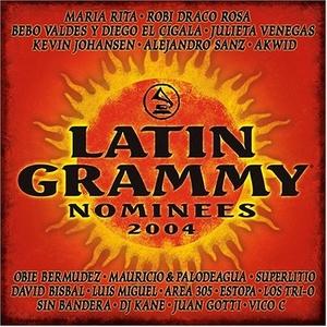 2004 Latin Grammy Nominees album cover