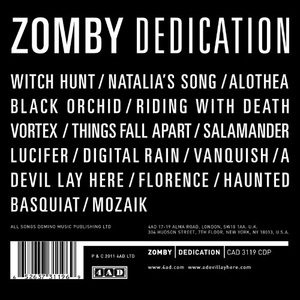 Dedication album cover