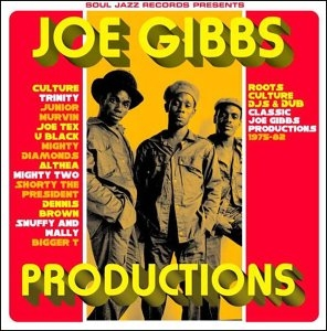 Joe Gibbs Productions: Roots DJs And The Birth Of Dancehall album cover