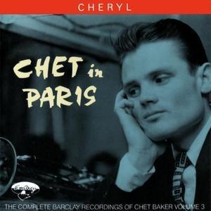 Chet In Paris, Vol.3: Cheryl album cover