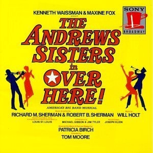 Over Here (1974 Broadway Cast) album cover