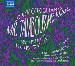 Corigliano: Mr. Tambourine Man album cover