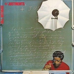+ 'Justments album cover